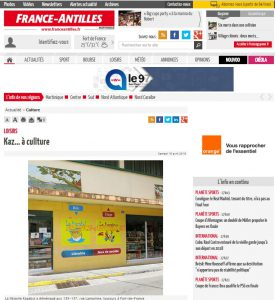 Article france antilles martinique