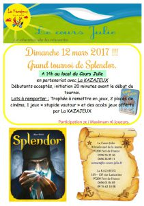 Tournoi splendor